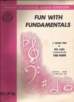 Fun With Fundamentals for Bb Clarinet (First Division Band Course)