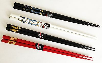 REAL CHINESE CHOPSTICKS - 4 Stunning Designs - Rapid Same Day Despatch