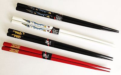 Real Chinese Chopsticks - 4 Separate Stunning Designs Available + Complete Set!