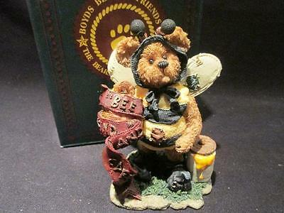 Caren B Bearlove Boyds Bearstone #227722GCC Box Exclusive Issue 1999