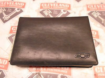 1996 Chevrolet Impala SS OEM Owners Manual Literature & Case