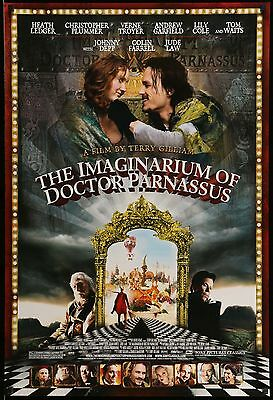 Imaginarium Of Doctor Parnassus - original DS movie poster - 27x40 D/S Ledger