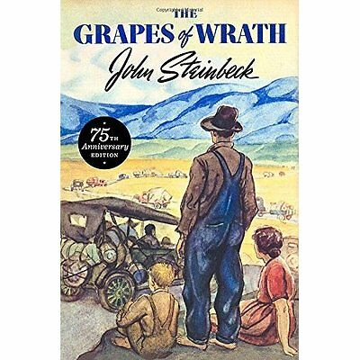 The Grapes of Wrath 75th Anniversary Edition - John Steinbeck( NEW Hardcover 10/
