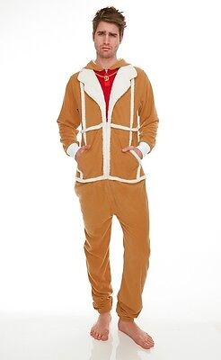 Only Fools And Horses Fleece Lined Jumpsuit Onesie - DEL BOY NEW