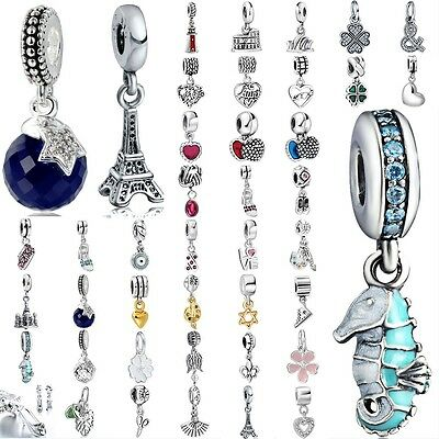 Pendant bead For European 925 sterling silver charms beads bracelet necklace AU1