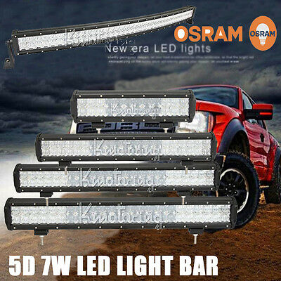 168W/294W/336W/462W/560W/672W/700W 5D Osram Combo LED Work Light Bar Lamp 12""