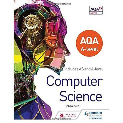 AQA A level Computer Science - Paperback NEW Bob Reeves (Aut 2015-06-26