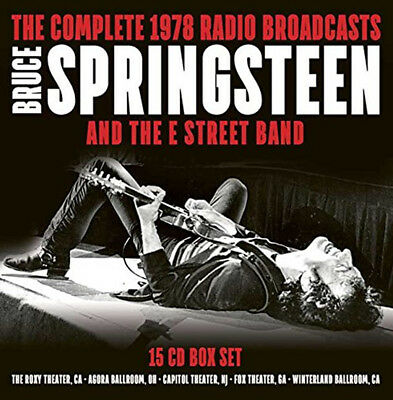 Bruce Springsteen & The E Street Band Complete 1978 Radio Broadcasts (NEW 15 CD)