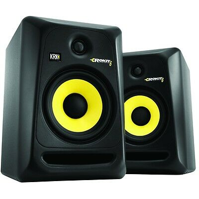 Krk Rp-6 Rp 6 Rp6 G3 Rokit Studio Monitors Black Coppia / Pair (2) - Offerta!!!