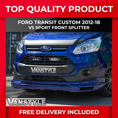Ford Transit Custom & Tourneo 12-18 Lower Front Splitter Spoiler Lip Bumper Van