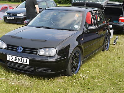 Vw Golf Mk4 1997-2004 Black Bonnet Bra Gti R32 Tdi