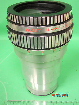 Vintage Mosty Cinemascope Anamorphic Attachment 35mm Cine Lens