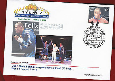 Australia 2000, Olympic FDC, Local Post, Golden Greats