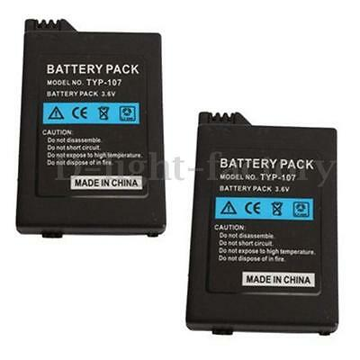 2pcs 3.6V 3600mAh Replacement Rechargeable Battery for Sony PSP Slim 2000 3000