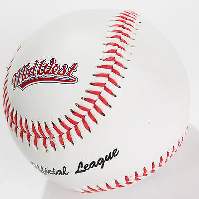 """Midwest Official League Baseball 9"""" League Ball Official Size & Weight rrp£10"""