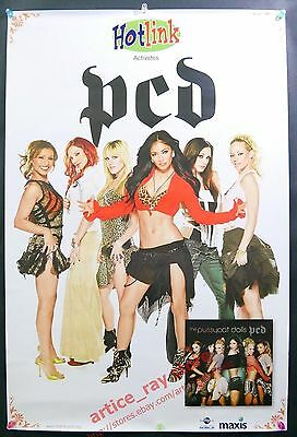 The Pussycat Dolls PCD 2005 Taiwan Promo Poster NEW
