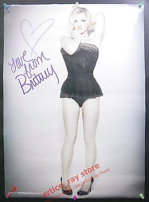 BRITNEY SPEARS The Singles Collection 2009 Taiwan Promo Poster NEW