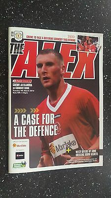 Crewe Alexandra V Grimsby Town 2009-10