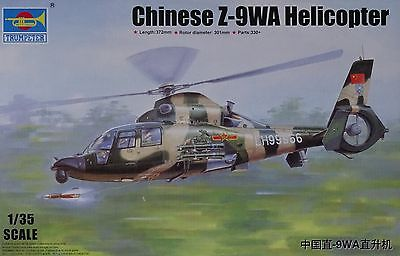 TRUMPETER® 05109 Chinese Z-9WA Helicopter in 1:35