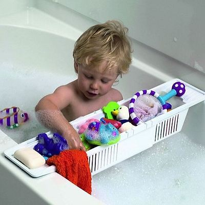 BabyDan Bath Storage Basket Baby Child Bathing Bath Toy Organiser