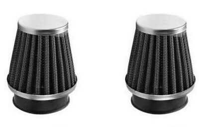 Two 2 x New Power Air Filter 42-43mm K&N Style