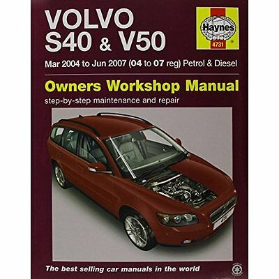 Haynes service repair manual 4731 volvo s40 v50 petrol volvo s40 v50 service and repair manual haynes servi paperback new 2015 fandeluxe Gallery