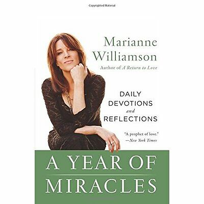 A Year of Miracles: Daily Devotions and Reflections - Paperback NEW Marianne Wil