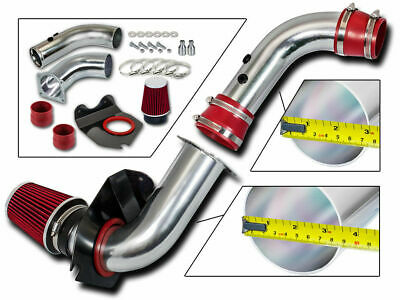 BCP RED 1994 1995 1996 1997 1998 Mustang 3.8L V6 Cold Air Intake + Filter