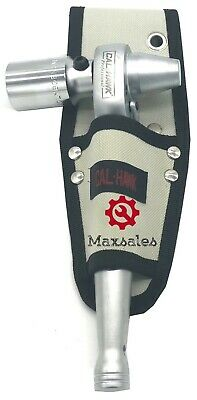 """1/2"""" Scaffold Ratchet With 7/8"""" 6-Point Socket W/ Tool Pouch Holder New"""
