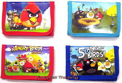 Brandnew Angry Birds Wallet coin Purse tri-fold new release