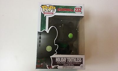 FUNKO,POP,neuf,DRAGONS,KROKMOU,HOLIDAY TOOTHLESS,232,exclu