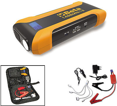 Jump starter Booster Beta Utensili 1498MN/12 avviatore powerbank 600Ah Action