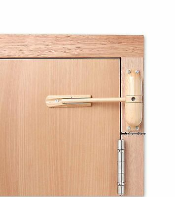 Surface Mounted Light Wood Spring Door Closer 30 min left or right fire door