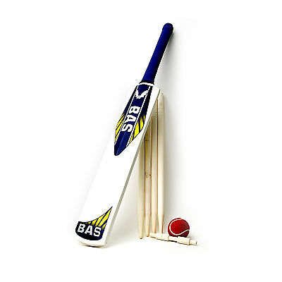 Bas Strike Cricket Set - Kashmir Willow - Available In 3 / 6 Sizes