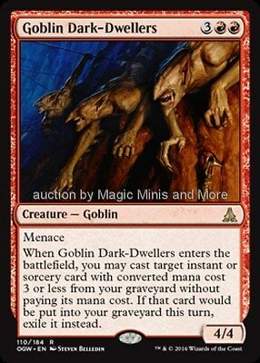 Oath of the Gatewatch ~ GOBLIN DARK-DWELLERS rare Magic the Gathering MtG card