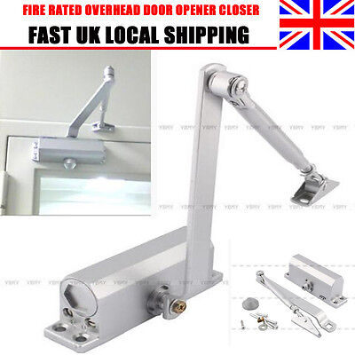 Overhead Door Soft Closers Adjustable Steel DIY Fire Rated Tested Size 25-45KG