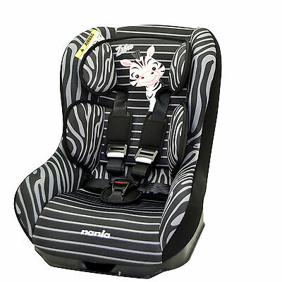 New Nania Zebra Sp Driver Group 0/1 Car Seat Universal Baby Carseat From Birth