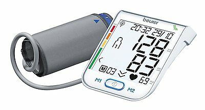 Beurer BM75 Upper Arm Blood Pressure Monitor with HFC and Health Manager
