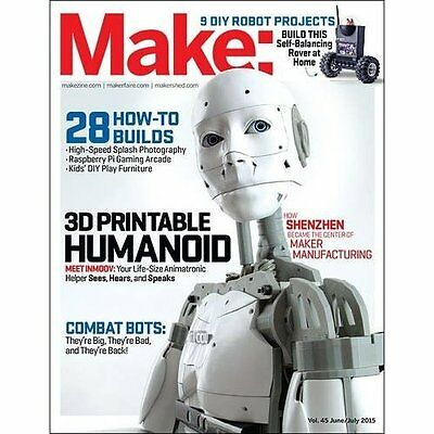 Make: Volume 45: Robot Workshop (Make: Technology on Yo - Paperback NEW Jason Ba