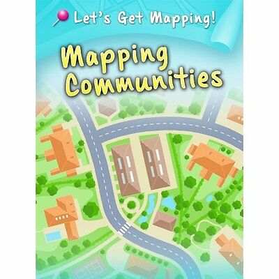 Mapping Communities (Let's Get Mapping!) - Paperback NEW Melanie Waldron 2014-02