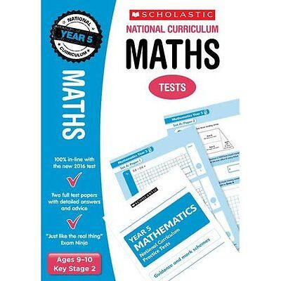 Maths Test - Year 5 (National Curriculum Tests) - Paperback NEW Paul Hollin (Au