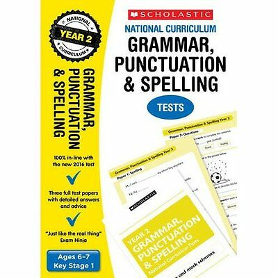 Grammar, Punctuation and Spelling Test - Year 2 (Nation - Paperback NEW Graham F