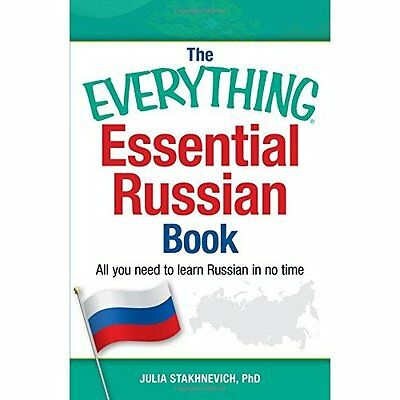 The Everything Essential Russian Book: All you need to  - Paperback NEW Julia St