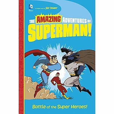 Battle of the Super Heroes! (Amazing Adventures of Supe - Paperback NEW Yale Ste