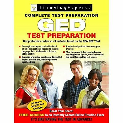 GED Test Preparation - Paperback NEW LearningExpress 2015-05-07