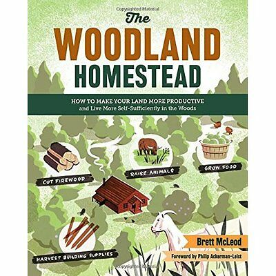 Woodland Homestead, The - Paperback NEW Brett McLeod(Au 2015-07-13