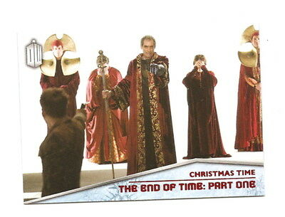 2015 Topps Doctor Who  Christmas Time Insert  CT-5  End of Time Pt 1