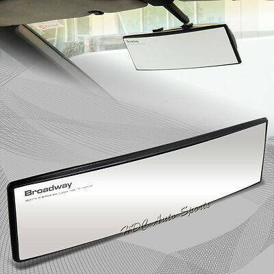 Universal Broadway 270MM Wide Convex Interior Clip On Rear View Clear Mirror