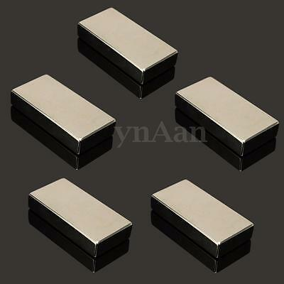 N52 Grade Neodymium Block Magnet 50 X 25 X 10mm Strong Rare Earth Magnets