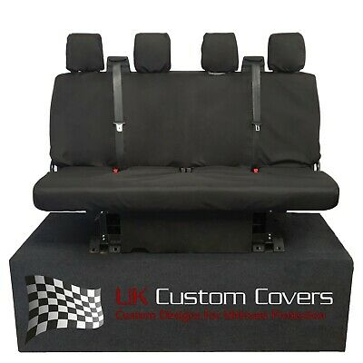 Ford Transit Van Double Chassis & Tipper Mk8 2014+ Tailored Rear Seat Covers 180